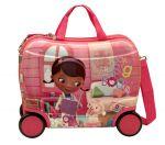 Porovnat ceny JOUMMABAGS detský kufrík na kolieskach Doc McStuffins priatelia 46x30x21 cm