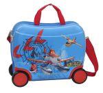 Porovnat ceny JOUMMABAGS detský kufrík na kolieskach Planes 46x30x21 cm