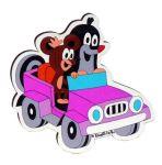 Porovnat ceny DoDo Magnetka s lepíkom Krtko v autíčku 9,5x9x0,5 cm