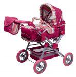 Porovnat ceny KNORRTOYS Kočík pre bábiky TWINGO S 38 58x25x84 cm