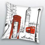Porovnat ceny HERDING Vankúšik London Art polyester 40x40 cm