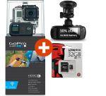 Porovnat ceny GoPro kamera HD HERO 3+ Black Edition + 32GB micro SD zdarma
