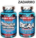 Porovnat ceny Aminostar Tribulus Terrestris 120cps. + BCAA 120cps. ZADARMO