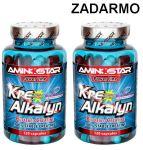 Porovnat ceny Aminostar Kre-Alkalyn 120 cps. + druhý ZADARMO