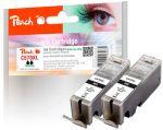 Porovnání ceny PI100-287 | Peach Canon PGI-570XL, černá, s čipem Twin-Pack (2 ks)