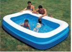 Porovnání ceny BESTWAY Dětský nafukovací bazén - obdelník 218 x 218 x 46 cm