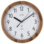 Porovnání ceny Přesné moderní rádiem řízené hodiny JVD RH612.8 - imitace dřeva