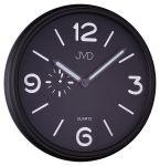 Porovnání ceny Černé luxusní moderní hodiny JVD quartz HA11.1
