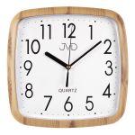 Porovnání ceny Hranaté nástěnné hodiny JVD quartz H615.3 imitace dřeva - světlé
