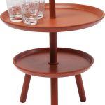 Porovnání ceny KARE Design Odkládací stolek Jacky - oranžový, 42 cm