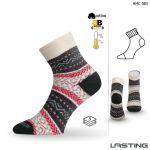 Porovnání ceny HMC zimní trekové ponožky Lasting červená S