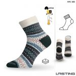 Porovnání ceny HMC zimní trekové ponožky Lasting modrá S