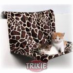 Porovnání ceny Trixie Závěsné lůžko na topení 48 cm, plyšové, motiv žirafa