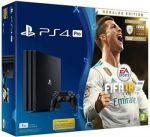 Porovnání ceny Sony PlayStation 4 PRO 1TB černý + FIFA 18 Ronaldo Edition - PS719917267
