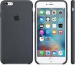 Porovnání ceny Apple iPhone 6/6S Silicone Case Charcoal Gray - MKY02ZM/A