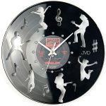 Porovnání ceny Nástěnné hodiny design JVD HJ62 ze skutečné gramodesky (motiv kapely)