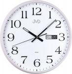 Porovnání ceny Netikající tiché nástěnné hodiny JVD sweep HP671.1 s datumovkou