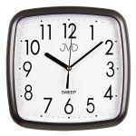 Porovnání ceny Šedo černé hranaté nástěnné hodiny JVD sweep HP615.17