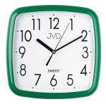 Porovnání ceny Zelené hranaté hodiny netikající tiché JVD sweep HP615.15