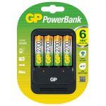 Porovnat ceny GP Batteries Nabíjačka GP Powerbank 570GS vr. 4x 2700 AA NiMH