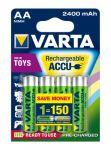 Porovnání ceny 4ks Varta Toys Accu AA Ready2Use NiMH 2400 mAh Mignon