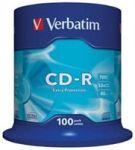 Porovnat ceny VERBATIM CD-R DL 100ks CAKEBOX 52x 700MB