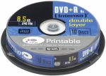 Porovnat ceny 1x10 Intenso DVD+R 8,5GB 8x Speed, Double Layer printable