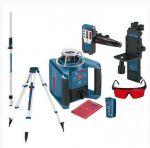 Porovnat ceny BOSCH GRL 300 HV Set + BT 170 HD + GR 240 rotační laser set + stativ + lať
