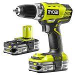 Porovnat ceny Ryobi RCD 18022 L (2x1,5 Ah Li+) 2-Gear Cordless Srewdriver