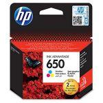Porovnání ceny HP 650 Tri-color Original Ink Advantage Cartridge