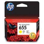 Porovnání ceny HP 655 Yellow Original Ink Advantage Cartridge