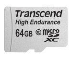Porovnání ceny Transcend 64GB microSDXC (Class 10) High Endurance MLC průmyslová paměťová karta (s adaptérem), 21MB/s R, 20MB/s W