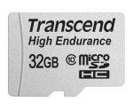 Porovnání ceny Transcend 32GB microSDHC (Class 10) High Endurance MLC průmyslová paměťová karta (s adaptérem), 21MB/s R, 20MB/s W