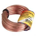Porovnání ceny Hama Speaker Cable, 2 x 0.75 mm2, 10 m, transparent