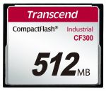 Porovnání ceny Transcend 512MB INDUSTRIAL CF300 CF CARD, high speed 300X paměťová karta (SLC)