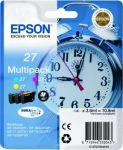 Porovnání ceny Alarm clock Multipack Epson T2705 C/M/Y 3-colour 27 DURABrite | 10.8 ml