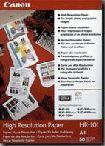 Porovnání ceny Canon fotopapír HR-101 - A3 - 106g/m2 - 100 listů - matný