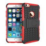 Porovnání ceny Apple iPhone 6/6S Plus Odolný kryt Červený