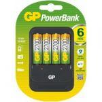 Porovnat ceny GP Nabíjačka GP PB570 4 x akumulátor GP 2700 mAh AA NiMH