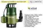 Porovnání ceny EXTOL CRAFT Čerpadlo elektrické kalové 400 W 7500 l / hod Extol 414122