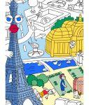 Porovnat ceny Veľká maľovanka Paris OMY