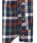 Porovnat ceny Krémovo-zeleno-modrá kockovaná košeľa Fynch-Hatton
