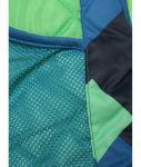 Porovnat ceny Zeleno-modrá vzorovaná chlapčenská zimná bunda s kapucňou 5.10.15.